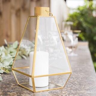 Gold Memorial Lantern