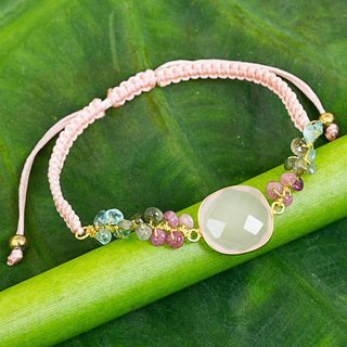 Handcrafted Multi-gemstone 'Jewel of the Sand' Bracelet (Thailand)