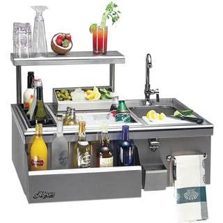 Alfresco 30-Inch Built-In Bartender Center With Sink