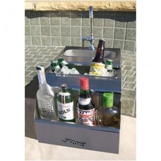 Alfresco 14-Inch Built-in Bartender Center With Sink