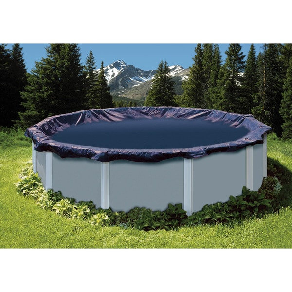 SuperGuard 24-foot Round Winter Swimming Pool Cover Shop - Free