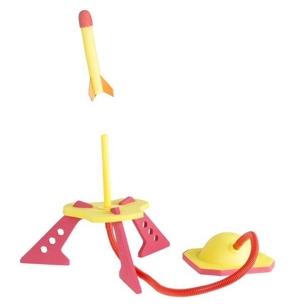 Hey! Play! Jump Rocket Launcher with 3 Foam Rockets