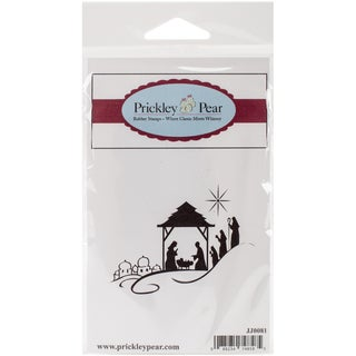 Prickley Pear Cling Stamps 2.5X4-Nativity