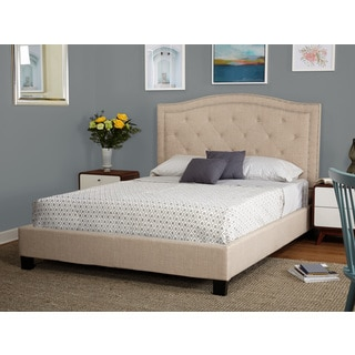 Simple Living Luciana Upholstered Queen Bed