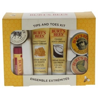 Burt's Bees 6-piece Tips & Toes Kit