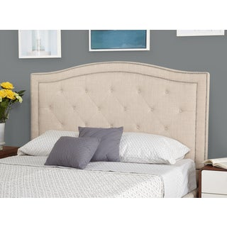 Simple Living Luciana Upholstered Queen Headboard