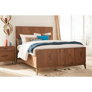 Adler Panel Bed in Natural Walnut
