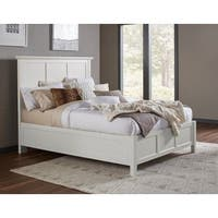 Paragon Panel Bed in White