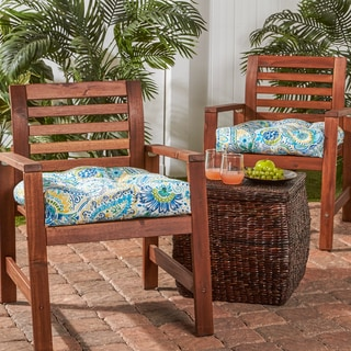 20-inch Outdoor Chair Cushion (Set of 2)
