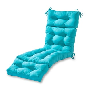 Havenside Home Driftwood Outdoor Chaise Lounger Cushion (Teal)