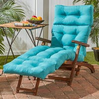 Havenside Home Driftwood Outdoor Chaise Lounger Cushion