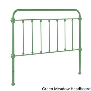 Giselle II Metal Bed iNSPIRE Q Modern (Option: Queen - Green Meadow Headboard ONLY)