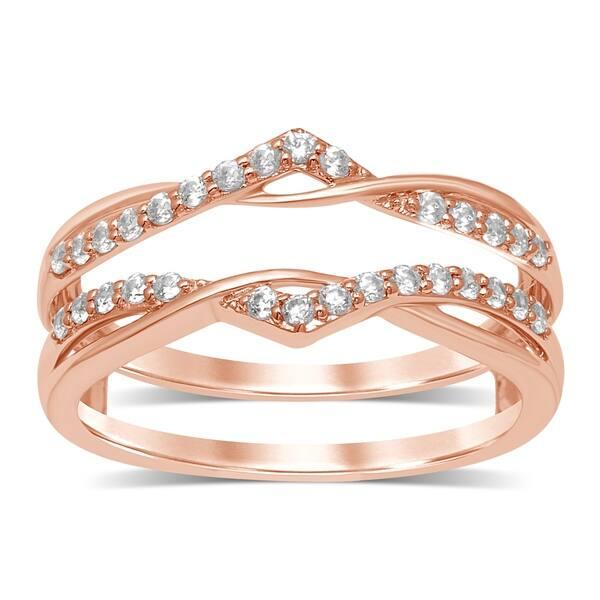Shop Unending Love 14k Gold 1 4 Ctw Round Diamond I J Color I2