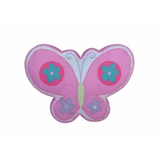 Multicolored Butterfly Decorative Throw Pillow