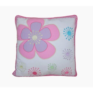 Blossom Floral Throw Pillow
