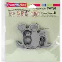 Stampendous House Mouse Cling Stamp 3.5X4-Love You Candy