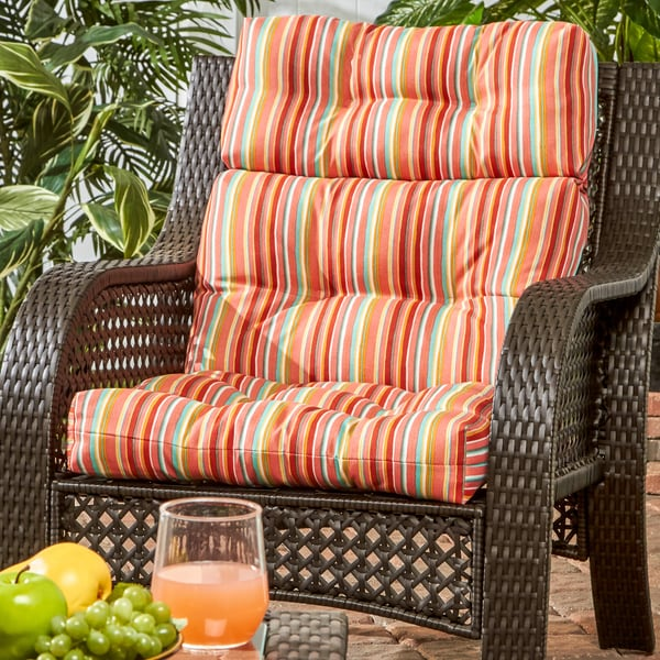 Shop Havenside Home Colton Stripe 22 Inch X 44 Inch Outdoor High
