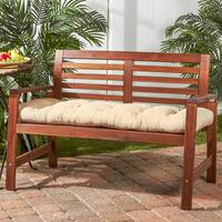 Greendale Home Fashions Outdoor Bench Cushion - 18w x 51l