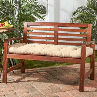 Greendale Home Fashions Outdoor Bench Cushion   18w X 51l