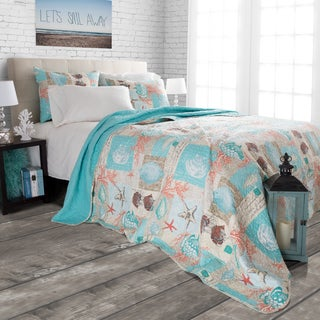 Quilt Set Nautical Star Fish by Windsor Home