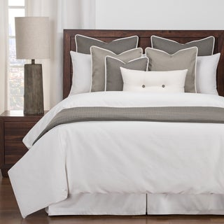 Link to Siscovers Everlast Stain Resistant 6 Piece White Duvet Cover Set Similar Items in Duvet Covers & Sets