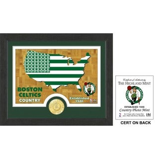 Boston Celtics Country Photo Mint
