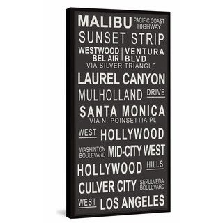 Marmont Hill - 'California Locations' Framed Painting Print