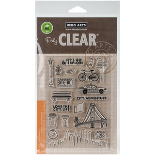 Hero Arts Clear Stamps 4X6-City Adventure