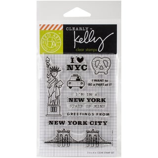 Kelly Purkey Clear Stamps 3X4-New York