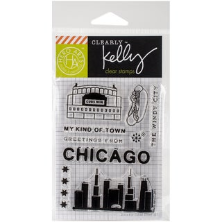 Kelly Purkey Clear Stamps 3X4-Chicago