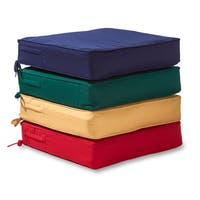 Greendale Deep Seat Outdoor Cushion Set in Sunbrella Fabric - 25 w x 45 l in.