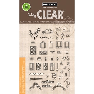Hero Arts Clear Stamps 4X6-Home Sweet Home
