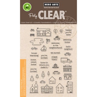 Hero Arts Clear Stamps 4X6-Town Essentials