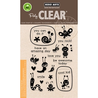 Hero Arts Clear Stamps 4X6-Lunch Box Notes