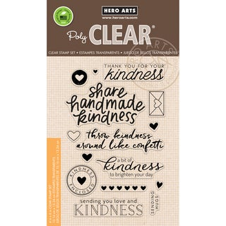 Hero Arts Clear Stamps 4X6-Acts Of Kindness
