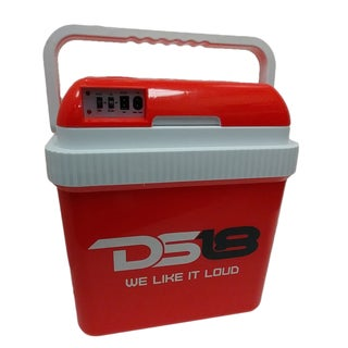 DS18 AC/ DC Red, 26-liter Travel Thermoelectric Cooler and Warmer
