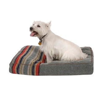 Pendleton Yakima Camp Heather Green Dog Bed