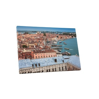 City Skylines 'Venice Italy' Gallery-Wrapped Canvas Wall Art