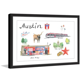 Marmont Hill - 'Traditional Austin' Framed Painting Print