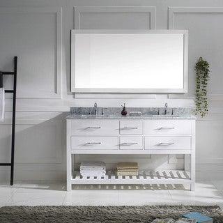Virtu Usa Caroline Estate 72 Inch Double Bathroom Vanity