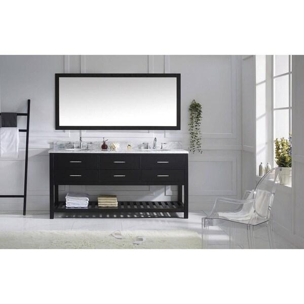 Shop Virtu USA Caroline Estate 72-inch Double Bathroom ...