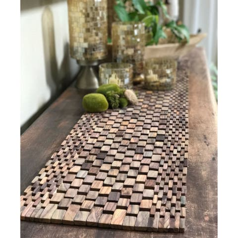 Handmade Rosewood Table Runner (Indonesia)