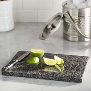 Sweet Home Collection Grey Granite 8x12 Cutting Board|https://ak1.ostkcdn.com/images/products/14452405/P21015429.jpg?impolicy=medium
