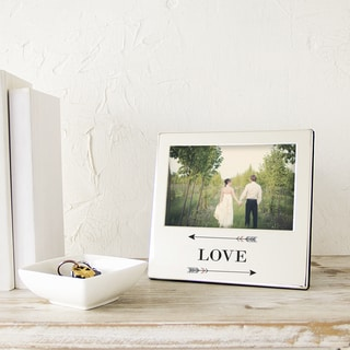 Love Arrows Silver Picture Frame