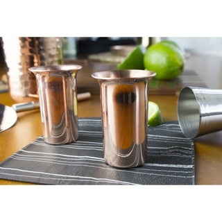 Sinkology Extra Thick Copper 1.25-ounce Shot Glasses (Set of 2)