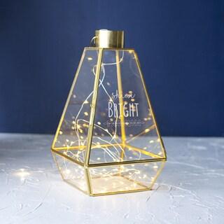 Shine Bright Gold Lantern