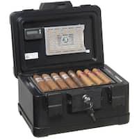 FireKing Fire and Waterproof Humidor - 30 Cigar Capacity