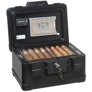 FireKing Fire and Waterproof Humidor - 30 Cigar Capacity