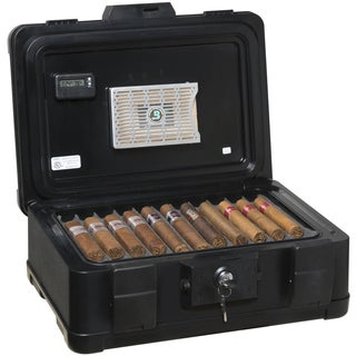 FireKing Fire and Waterproof Humidor - 60 Cigar Capacity