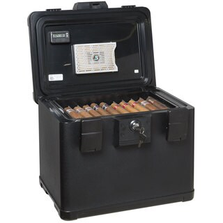 FireKing Fire and Waterproof Humidor - 200 Cigar Capacity